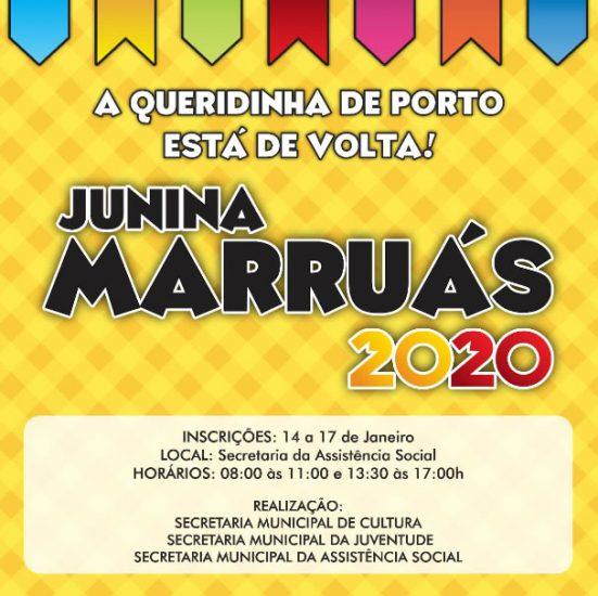 """Tradicional quadrilha """"Junina Marruás"""" abre inscrições para dançarinos"""