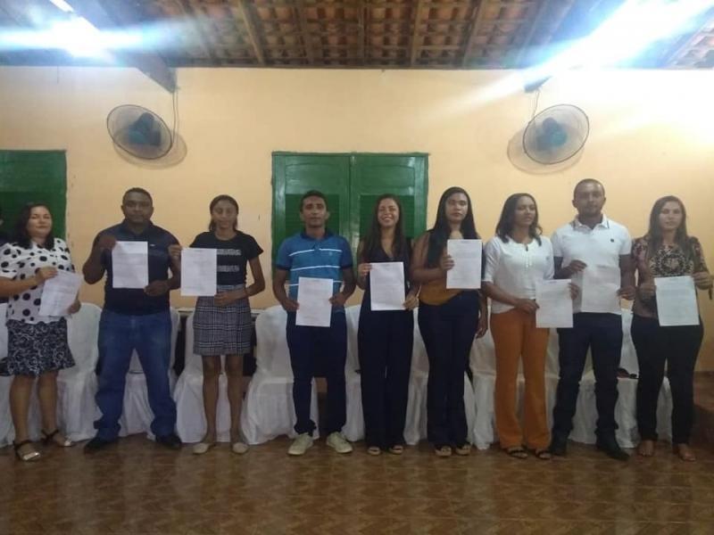 Novos conselheiros tutelares foram empossados em Cajazeiras do Piauí