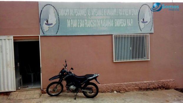 Bandidos levam R$ 5 mil em assalto ao Sindicato dos Pescadores de Amarante