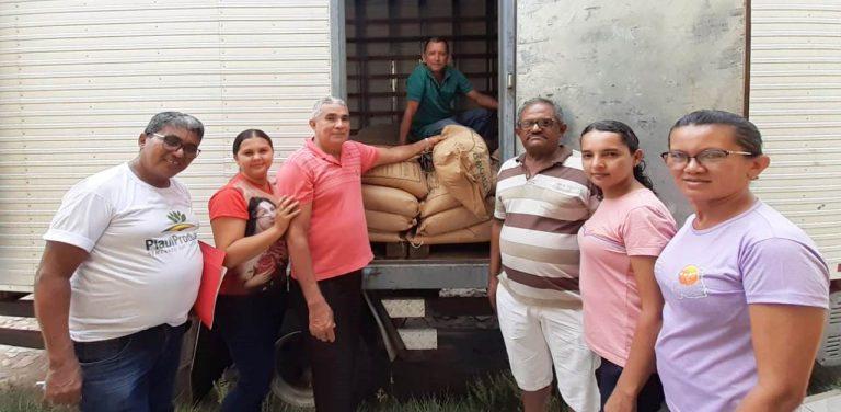 SAF envia sementes para Municípios da região dos Cocais