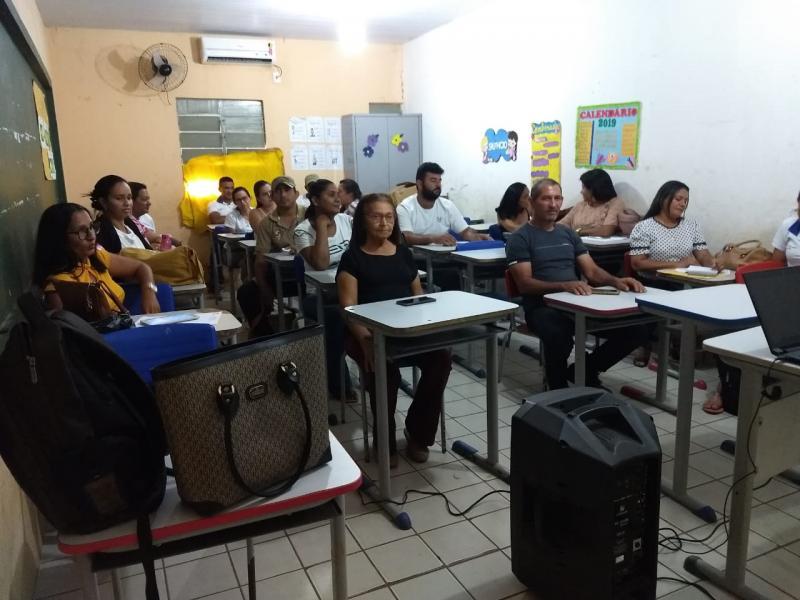 Pau D'arco   Secretaria de saúde promove palestra para funcionários