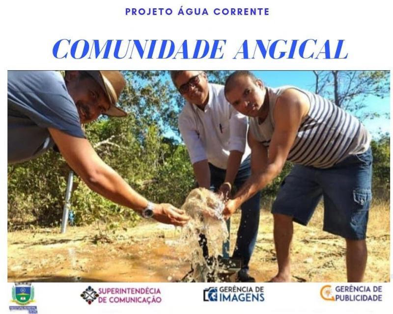 Programa beneficia comunidades que sofrem com a seca em Corrente-PI