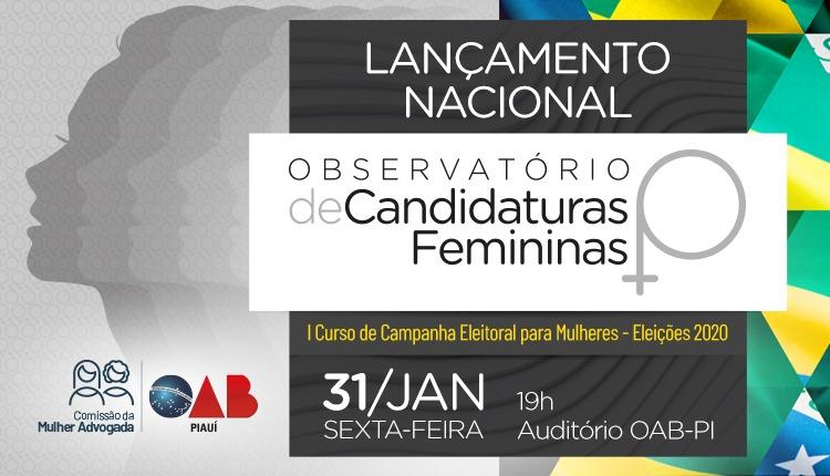 OAB Piauí realiza I Curso de Campanha Eleitoral para Mulheres