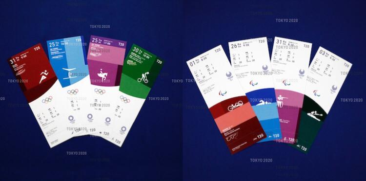 Comitê divulga visual dos ingressos dos Jogos Olímpicos de Tóquio