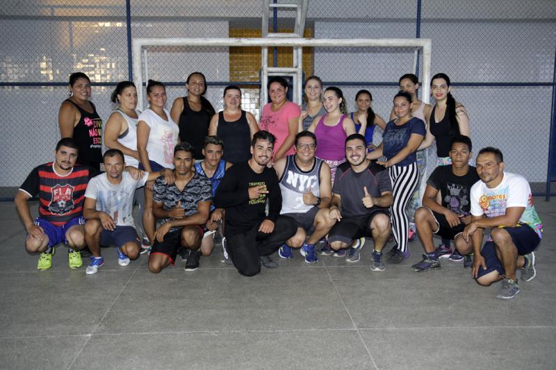 Saúde de Água Branca promove treino funcional em espaços públicos do município