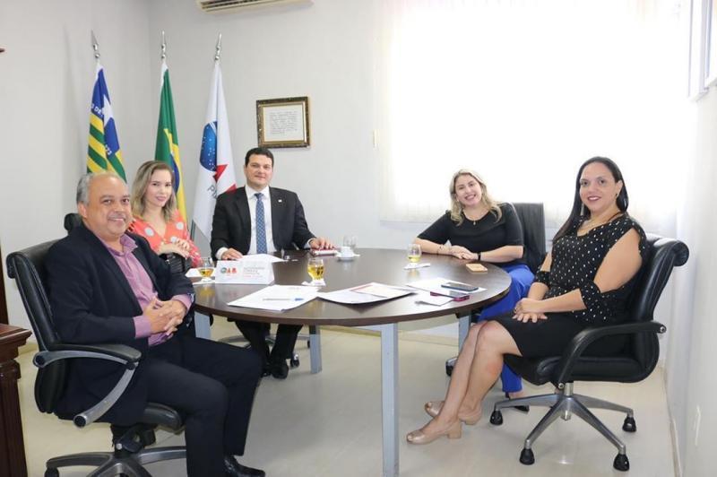 Presidente da Subseção de Oeiras esteve reunido com o Presidente da OAB PI