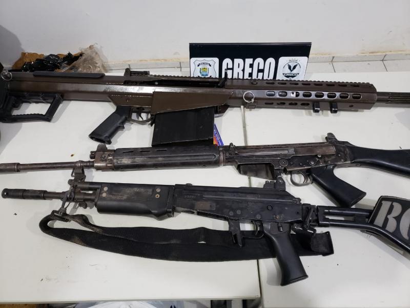Polícia apreende fuzil capaz de derrubar avião no Piauí