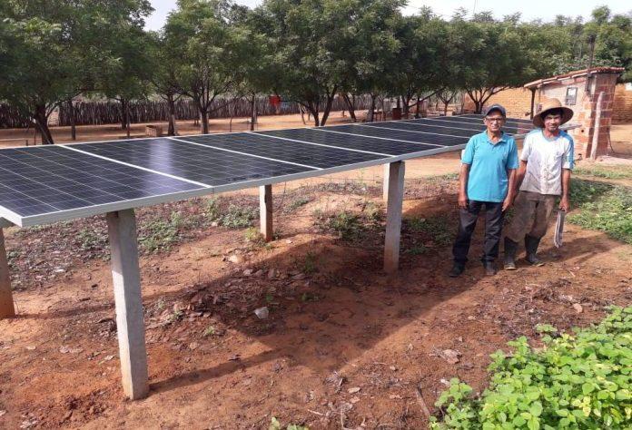 Oeiras colhe frutos do uso da energia solar na agricultura irrigada
