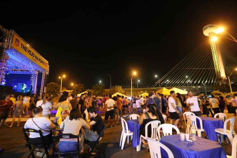 Ponte Estaiada será palco de dois eventos no domingo