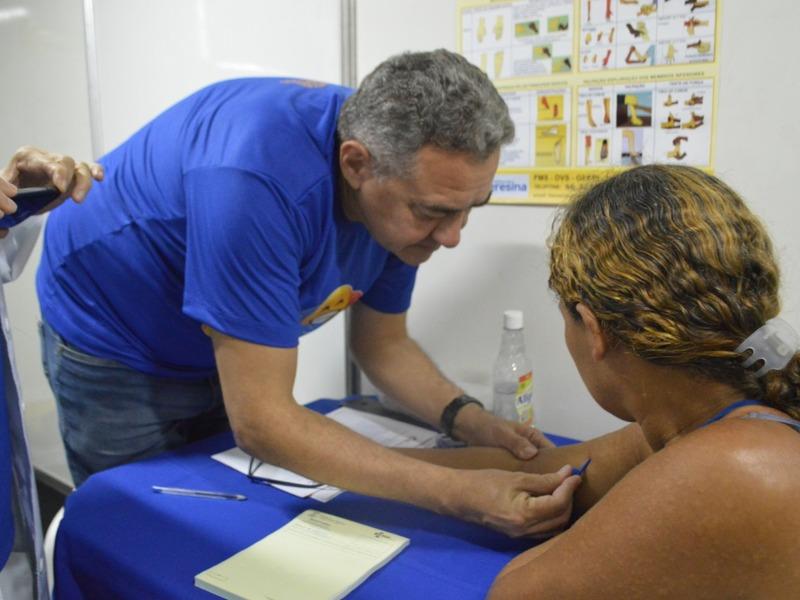 FMS alerta que manchas na pele podem ser sinal de Hanseníase