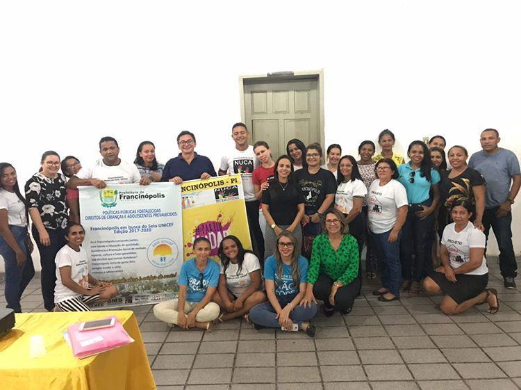 Prefeitura realiza reunião sobre metas e ações do Selo UNICEF 2017-2020