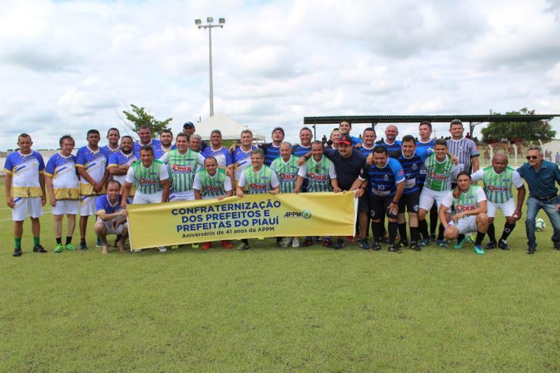 APPM comemora 41 anos com torneio e confraternização entre prefeitos