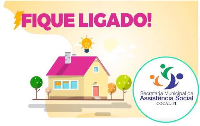 Assistência Social de Cocal inicia atividades nesta segunda-feira (20)
