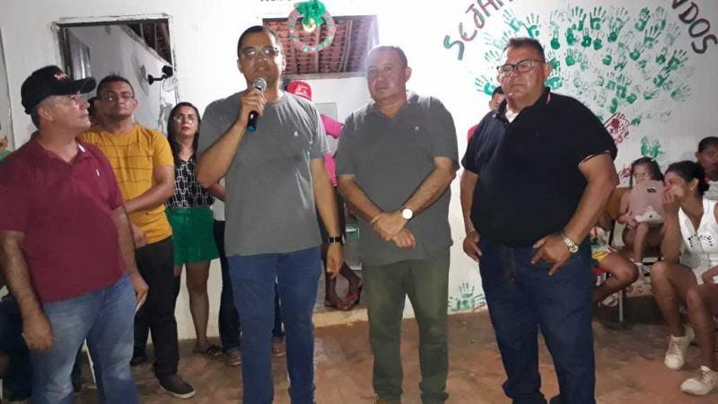 Prefeitura de Cajazeiras anuncia construções de obras na comunidade Mimbó