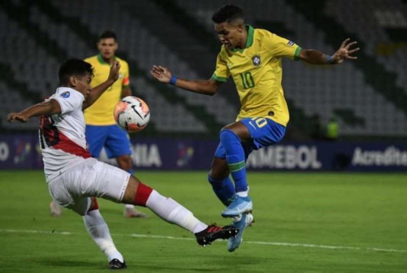 Brasil derrota o Peru por 1 x 0 na estreia do Pré-Olímpico