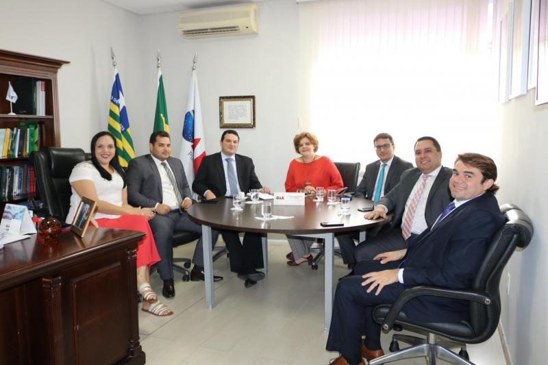 Representante da OAB Picos esteve em reunião com o presidente da OAB Piauí