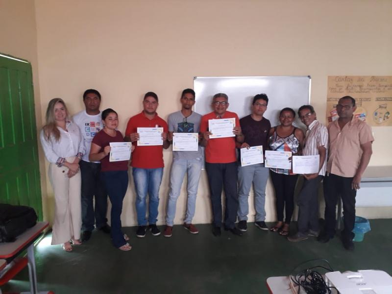 Capacitação com os novos conselheiros tutelares é realizada em Landri Sales
