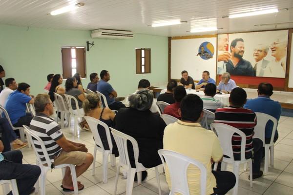Pré candidatos a vereador pelo PDT/Timon reuniram-se nesta segunda-feira 20