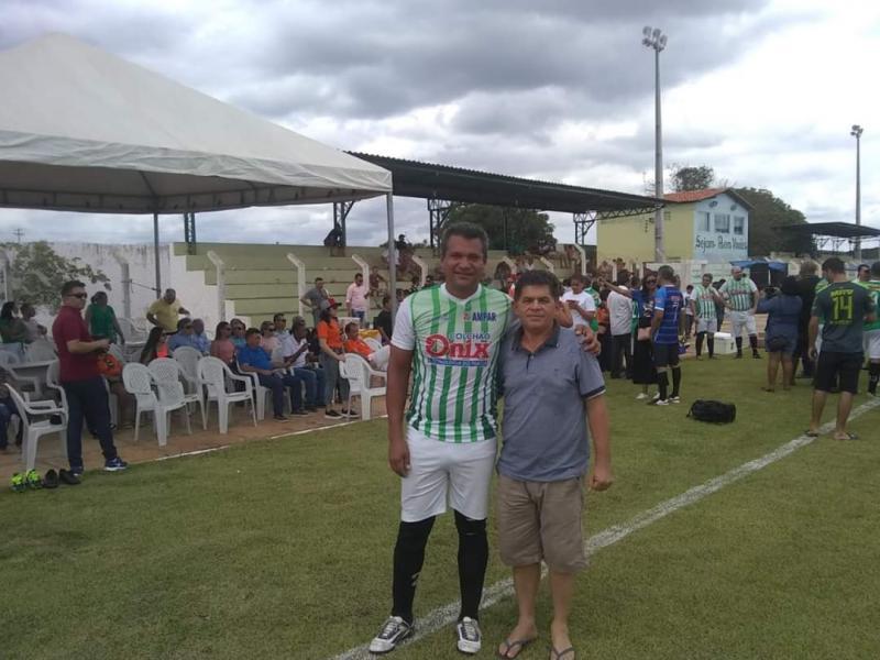 Prefeito Rômulo Aécio  participa de evento esportivo da APPM