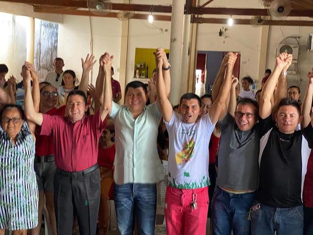 Prefeito Rubens Vieira participa de reunião no STRAAF de Cocal