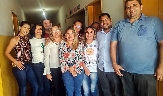 Cocal | Secretário da Saúde Taylon Andrade se reúne com equipe do CAPS