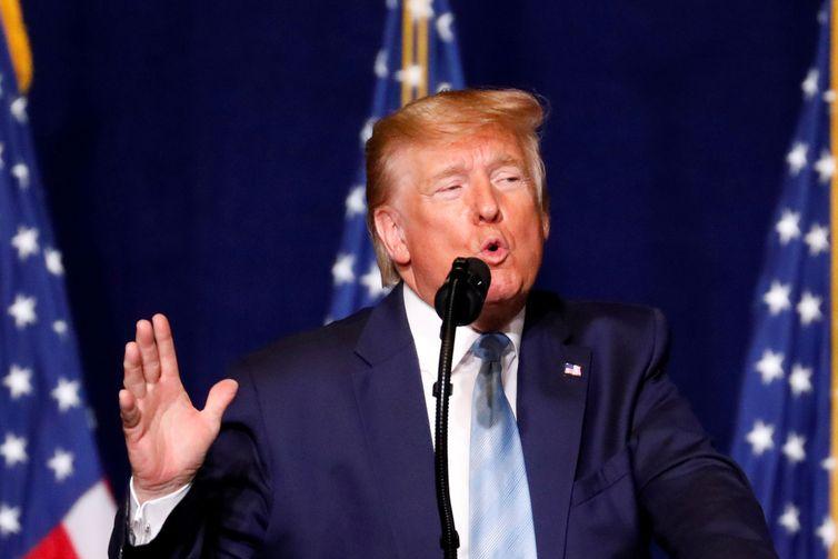 Impeachment de Trump começa a ser julgado no Senado