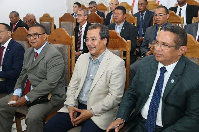 Prefeito Jonas Moura participa do aniversário da igreja Assembleia de Deus