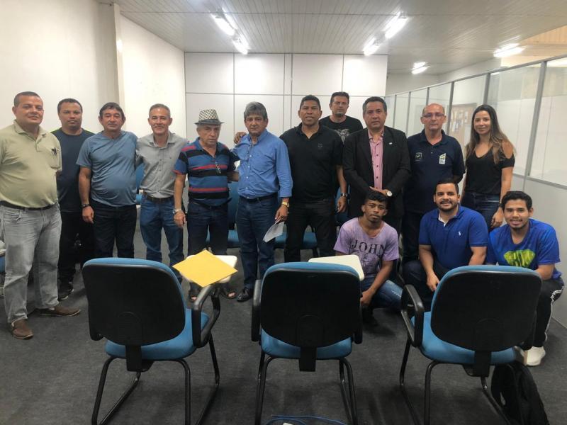 Comissão da OAB-PI participa de reunião sobre incentivo ao esporte na SEMEL