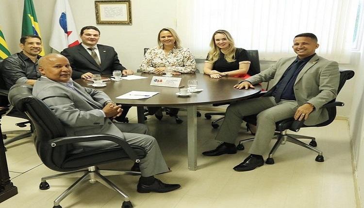 Parcerias e melhorias estruturais são temas de reunião entre CAAPI e OAB-PI