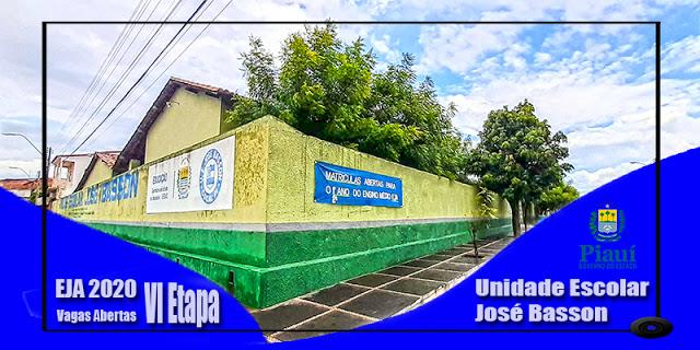 Cocal | Unidade Escolar José Basson abre matrículas para a VI Etapa da EJA