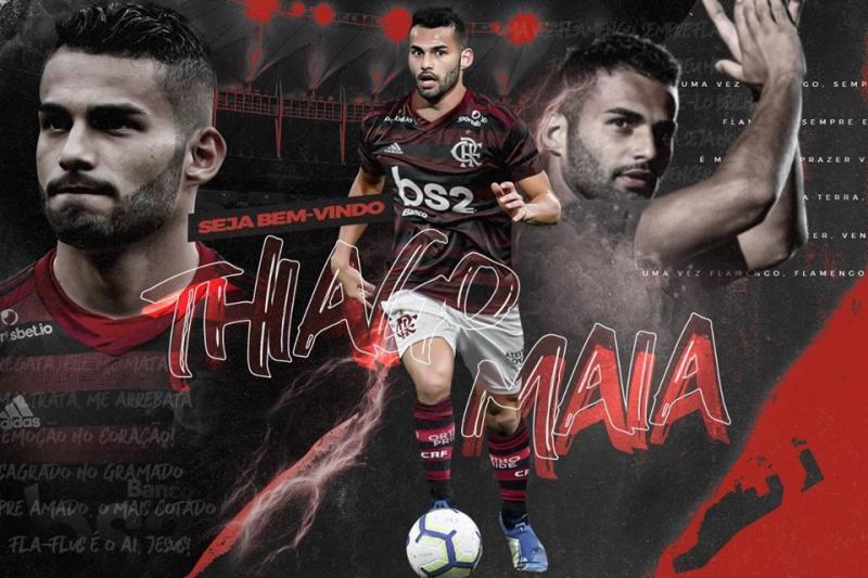 Flamengo confirma contratação de Thiago Maia como reforço para 2020