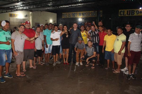 Deputado Rafael Leitoa prestigia confraternização da ASMAT