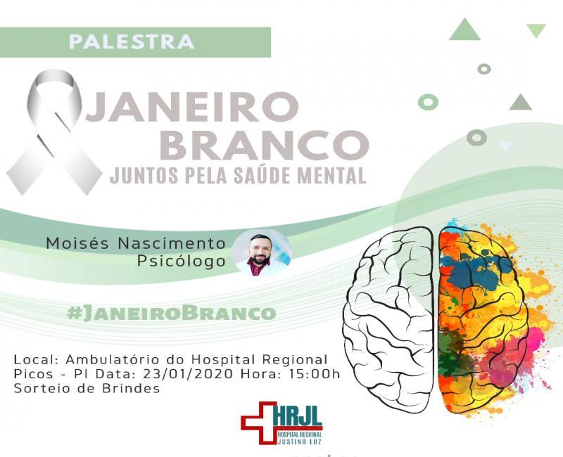 Janeiro Branco: Juntos pela saúde mental