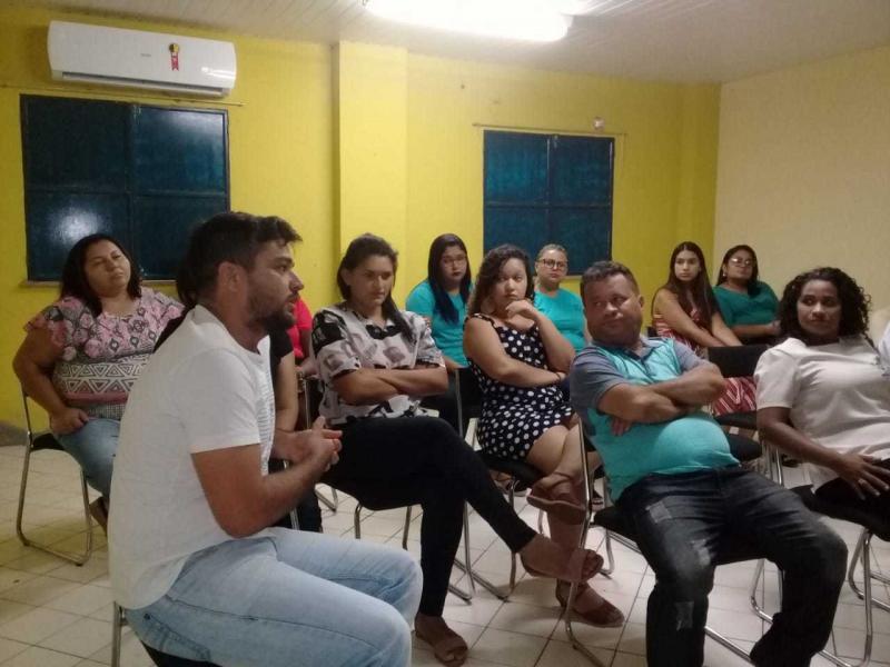 Saúde de Monsenhor Gil realiza capacitação com representantes da gestão