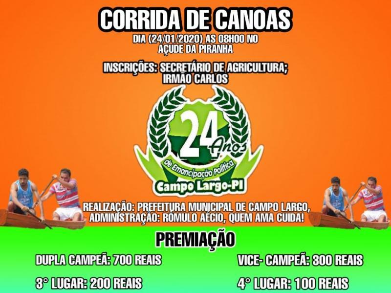 Prefeitura de Campo Largo divulga premiação de competições das festividades