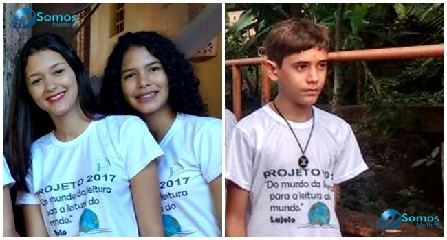 Pitágoras II comemora três aprovações no IFPI de Angical; aluna tem o 1º lugar em Administração