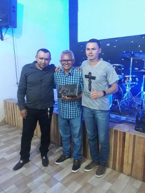 Presidente Antônio Valter prestigiou o Congresso de Jovens da Igreja