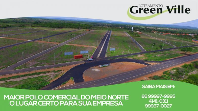 Greenville em Água Branca-Pi apresenta Rede de água, energia e pavimentação