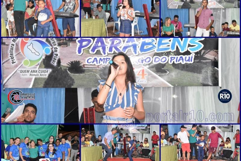 II Noite Cultural abre as festividades do aniversário de Campo Largo-PI