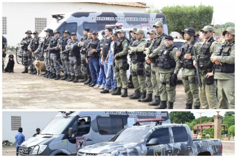 PM desencadeia Operação Campo Largo Segura em Campo Largo-PI