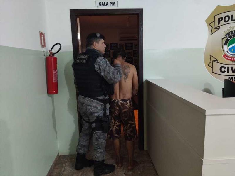 Homem é preso em flagrante após invadir Loja Maçônica em Nova Andradina