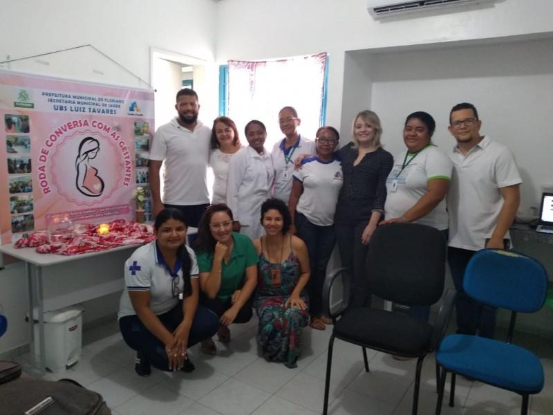 Servidores da Saúde de Floriano passam por Práticas Integrativas