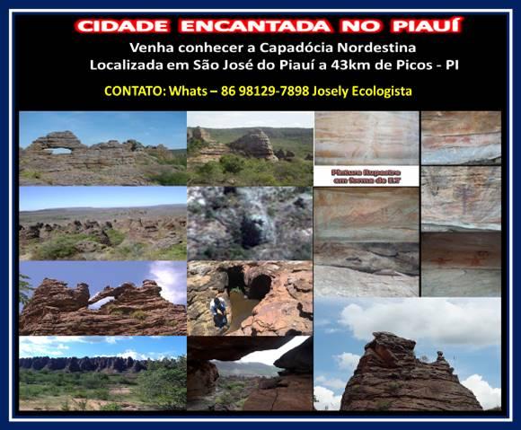 Álbum de fotos visita á Cidade Encantada em São José do Piauí