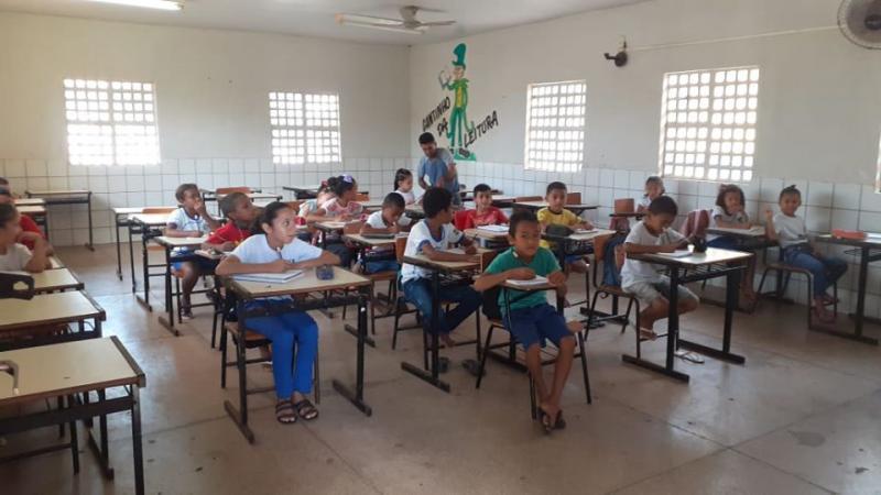 Estudantes de Altos ganham reforço escolar durante as férias