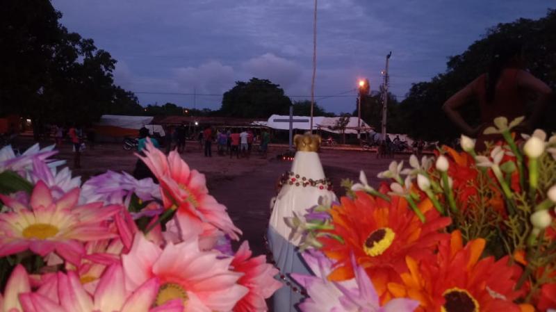 Iniciada a novena de Nossa Senhora das Candeias em Localidade Rural de LS