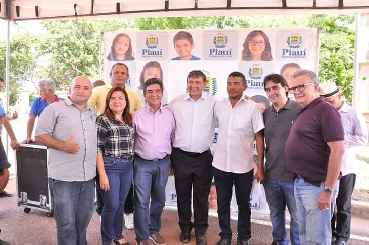 Prefeita Vilma Lima acompanhou agenda do governador W. Dias em Esperantina