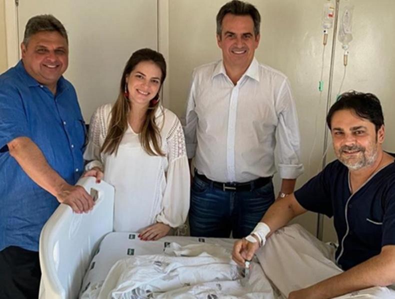 Prefeito de José de Freitas se recupera bem e recebe visitas