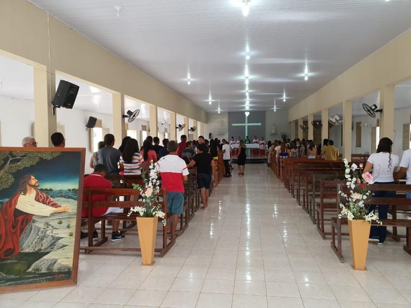 Pavussu realiza missa em comemoração aos 26 anos de emancipação política