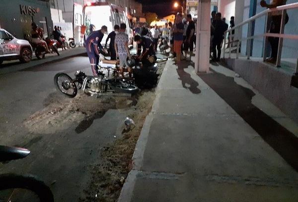 Acidente entre motos deixa um morto e dois feridos no Piauí