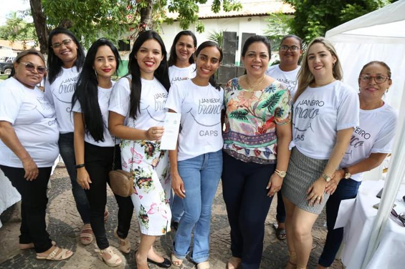 Assistência Social de Altos realiza ação em alusão ao Janeiro Branco